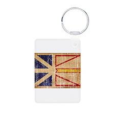 Newfoundland Flag Keychains