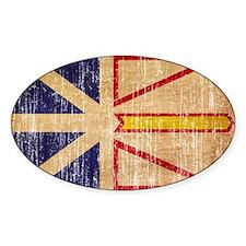 Newfoundland Flag Decal