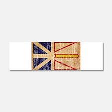 Newfoundland Flag Car Magnet 10 x 3