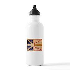 Newfoundland Flag Water Bottle