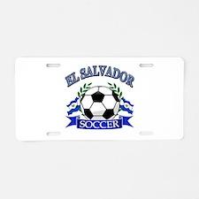 El Salvador Soccer designs Aluminum License Plate