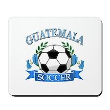 Guatemala Soccer designs Mousepad
