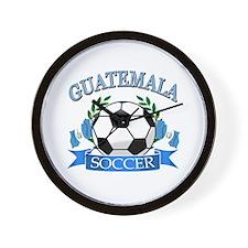 Guatemala Soccer designs Wall Clock
