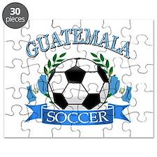 Guatemala Soccer designs Puzzle