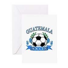 Guatemala Soccer designs Greeting Cards (Pk of 20)