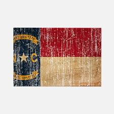 North Carolina Flag Rectangle Magnet