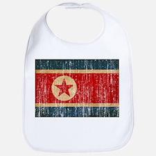 North Korea Flag Bib
