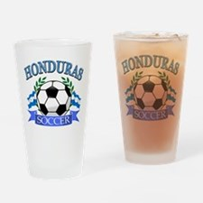 Honduras Soccer designs Drinking Glass