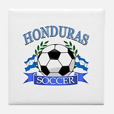 Honduras Soccer designs Tile Coaster