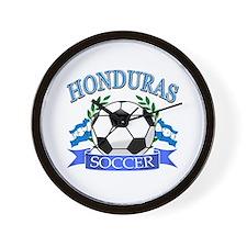 Honduras Soccer designs Wall Clock