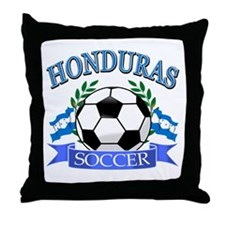 Honduras Soccer designs Throw Pillow