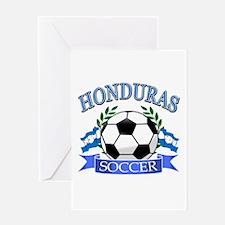 Honduras Soccer designs Greeting Card