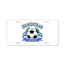 Honduras Soccer designs Aluminum License Plate