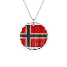 Norway Flag Necklace