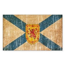 """Nova Scotia Flag Decal"