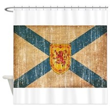 """Nova Scotia Flag Shower Curtain"
