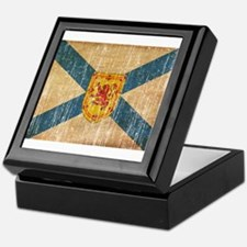 """Nova Scotia Flag Keepsake Box"