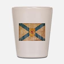 """""""Nova Scotia Flag Shot Glass"""