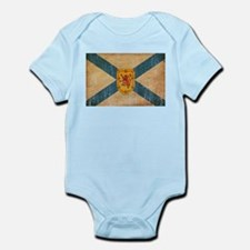 """Nova Scotia Flag Infant Bodysuit"