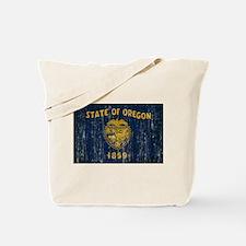 Oregon Flag Tote Bag