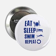 "Eat Sleep Swim 2.25"" Button"