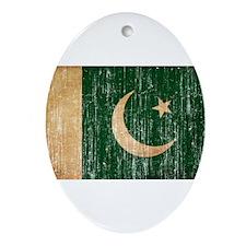 Pakistan Flag Ornament (Oval)