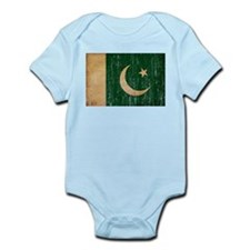 Pakistan Flag Infant Bodysuit