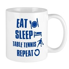 Eat Sleep Table Tennis Mug