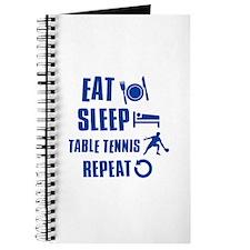 Eat Sleep Table Tennis Journal