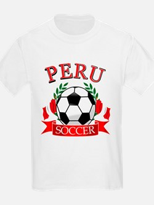 Peru Soccer designs T-Shirt