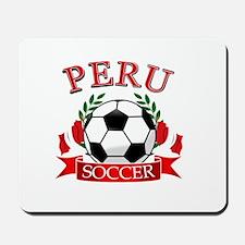 Peru Soccer designs Mousepad