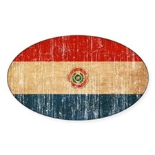 Paraguay Flag Decal
