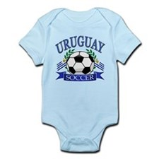 Uruguay Soccer designs Infant Bodysuit