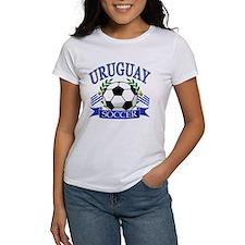 Uruguay Soccer designs Tee