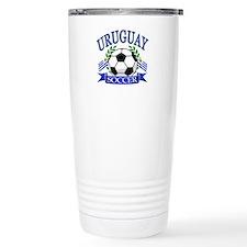 Uruguay Soccer designs Travel Mug