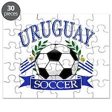 Uruguay Soccer designs Puzzle