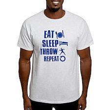 Eat Sleep Throw Javelin T-Shirt