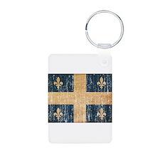 Quebec Flag Keychains