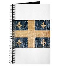 Quebec Flag Journal