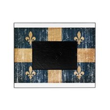 Quebec Flag Picture Frame