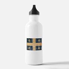 Quebec Flag Water Bottle
