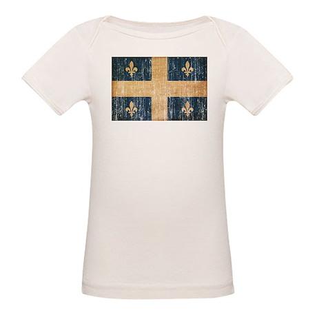 Quebec Flag Organic Baby T-Shirt