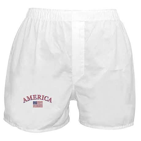 America Soccer designs Boxer Shorts