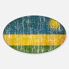 Rwanda Flag Decal