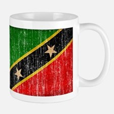 Saint Kitts Nevis Flag Mug