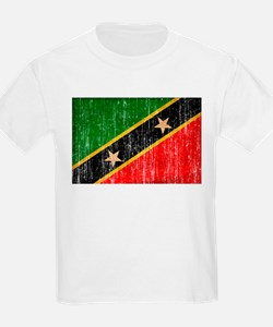 Saint Kitts Nevis Flag T-Shirt