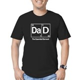 Dad the essential element Fitted T-shirts (Dark)