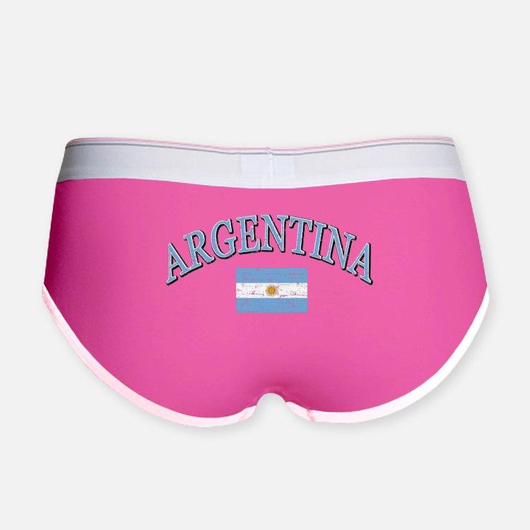 Argentina Soccer designs Women's Boy Brief