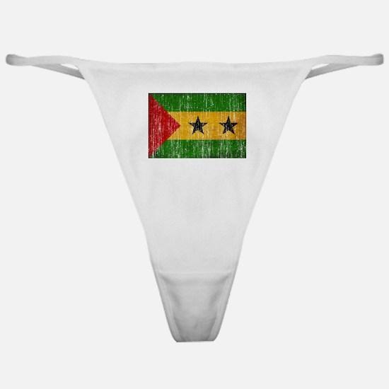 Sao Tome and Principe Flag Classic Thong