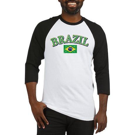 Brazil Soccer designs Baseball Jersey